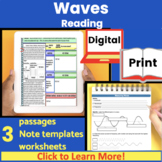 Waves (Longitudinal and Transverse) Guided Reading