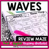 Waves Maze worksheet