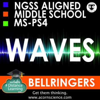 Middle School NGSS Waves MS-PS4 Bellringers