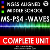 Middle School NGSS Waves MSPS4 Complete Unit