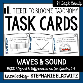 Waves and Sound Task Cards