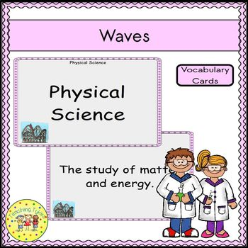 Waves Vocabulary Cards