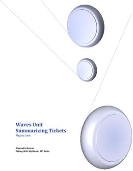 Waves Physics Unit Summarizing Slips