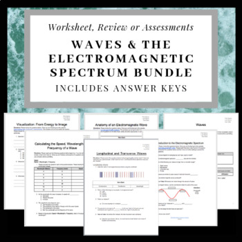 Wave Labels Worksheets & Teaching Resources   Teachers Pay
