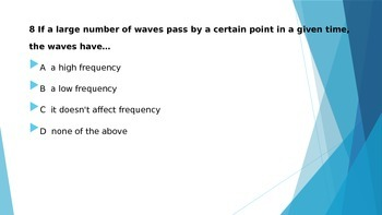 Waves Practice and Spiral Review
