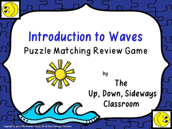 Introduction to Waves Puzzle Matching Review Game