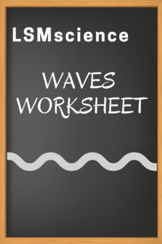waves review worksheet by lsmscience teachers pay teachers. Black Bedroom Furniture Sets. Home Design Ideas