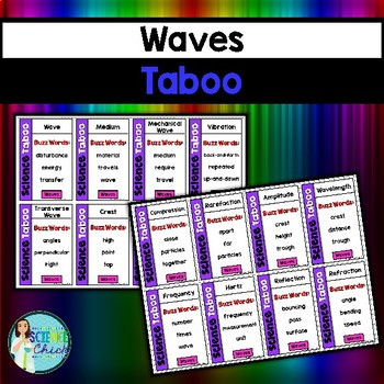 Waves Vocabulary Review Game