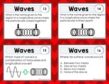 Waves Task Cards
