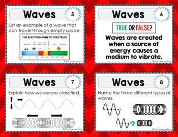 Waves Task Cards