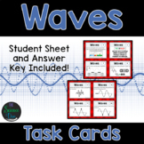 Waves Task Cards - Distance Learning Compatible