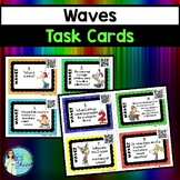 Waves Task Cards - with or without QR codes