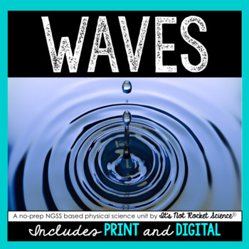 Waves Unit - Distance Learning Compatible