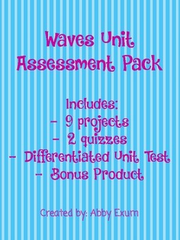 Waves Unit Assessment Pack