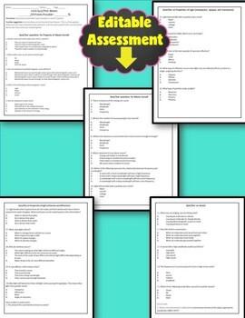 Waves Unit Editable Assessment