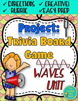 Waves Unit Project: Trivia Board Game