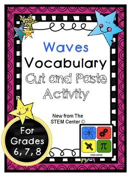 Waves Vocabulary Activity