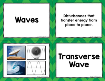 Waves Vocabulary Sort