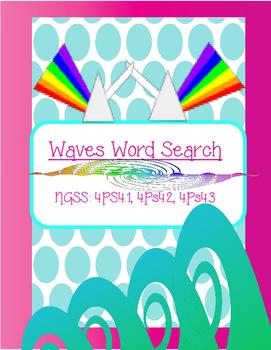 Waves Word Search *FREEBIE*