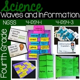Waves and Information {aligns to NGSS 4-PS4-1, 4-PS4-3}
