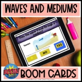 Waves and Mediums BOOM Cards | 4th Grade Science | Light a