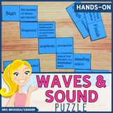 Waves and Sound Terms Domino Puzzle - Physics Vocabulary