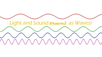 Light and Sound travel as Waves! (NGSS)