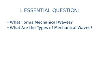 Waves in Physics notes