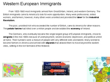 Waves of Immigrants