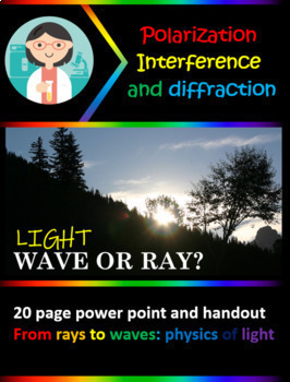 Waves or Rays? Diffraction and Intereference (double slit experiment & more)