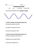 Waves practice worksheet