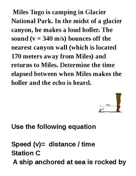 Waves stations  ( physics )