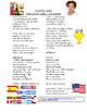 Wavin Flag Spanish Music Video Activity