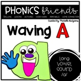 Waving A (Activities for learning long vowel a cvce)