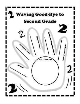Waving Goodbye to 2nd Grade