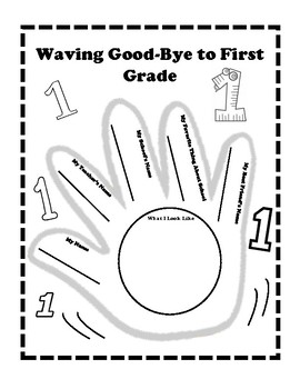 Waving Goodbye to First Grade