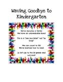 Waving Goodbye to Kindergarten Poem