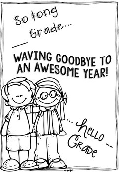 'Waving goodbye to an awesome year' Booklet {year2tastic}