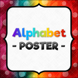 Wavy Alphabet Poster