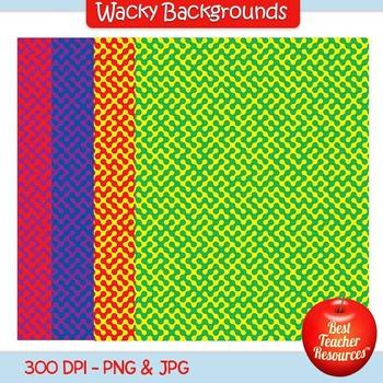 Wavy Backgrounds Clip Art