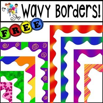 FREE! Wavy Borders