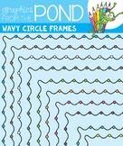 Wavy Circle Frames