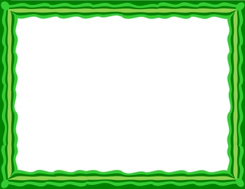 14 Wavy Frame Borders NO NEED TO CITE