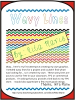 Wavy Lines by Nita Marie