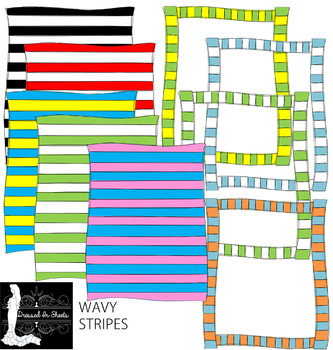 Wavy Stripes Borders & Fillers