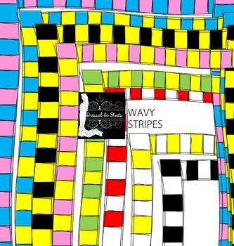Wavy Stripes Borders & Fillers