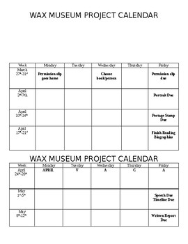 Wax Museum Documents