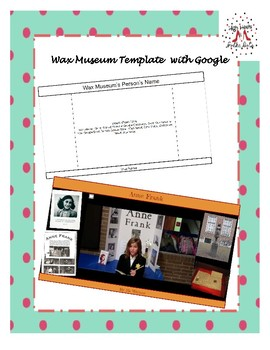 Wax Museum Template with Google