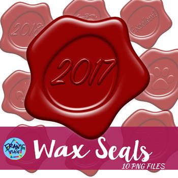 Clip Art : Wax Seals