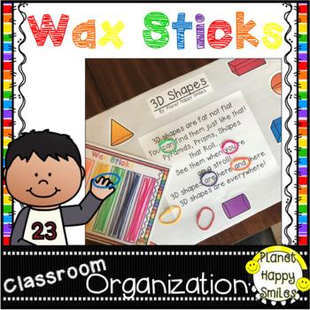 Wax Sticks Organizer
